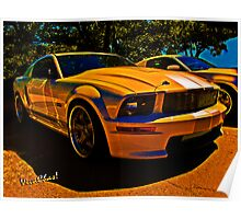Ford Named My Mustang Shelby Poster