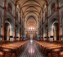 Notre-Dame Basilica in Saigon in HDR by Jimmy McIntyre