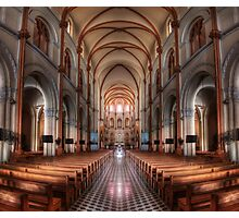 Notre-Dame Basilica in Saigon in HDR Photographic Print