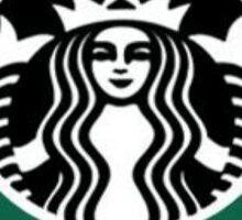 Alpha Omicron Pi - Starbucks logo Sticker