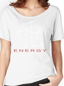 Chinese Symbol for Energy T-Shirt Women's Relaxed Fit T-Shirt