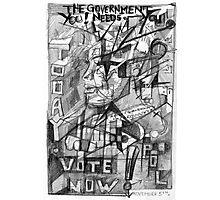 Vote Now. Photographic Print
