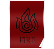 Fire Element Poster