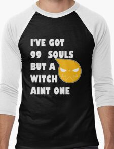 I've got 99 souls but a witch aint one Men's Baseball ¾ T-Shirt
