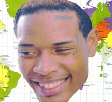 Fetty Map Sticker
