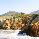 A rough coast in Corsica by DebbyScott