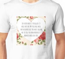 Darcy's proposal Unisex T-Shirt