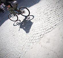 Riding my bike by Abby Lewtas