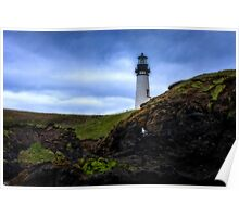 Oregon lighthouse Poster