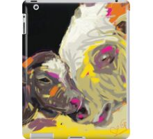 cows together 14 iPad Case/Skin