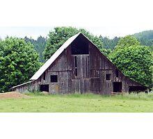 Old weathered barn Photographic Print