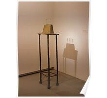 Quatre figurines sur base - Alberto Giacometti Poster