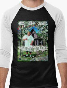 SPM - Time is Money Men's Baseball ¾ T-Shirt