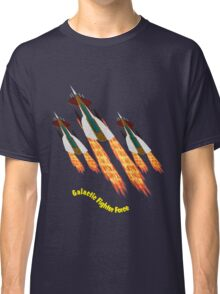 A Galactic Fighter Force on Patrol T-shirt design Classic T-Shirt