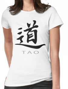 Chinese Symbol for Tao T-Shirt Womens Fitted T-Shirt
