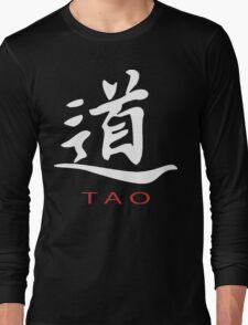 Chinese Symbol for Tao T-Shirt Long Sleeve T-Shirt