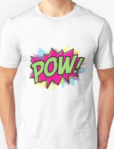 Comic Book Pow T-Shirt