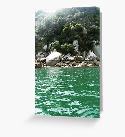 Abel Tasman Coast Greeting Card