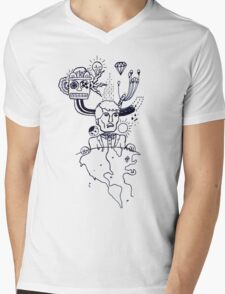 Indie Delight Mens V-Neck T-Shirt