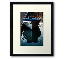 Night Time Mooring Framed Print