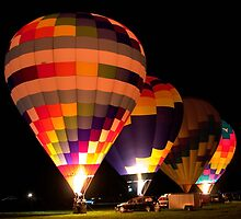 Final Four Balloons by Gene Walls