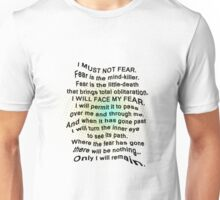 Litany Against Fear Unisex T-Shirt
