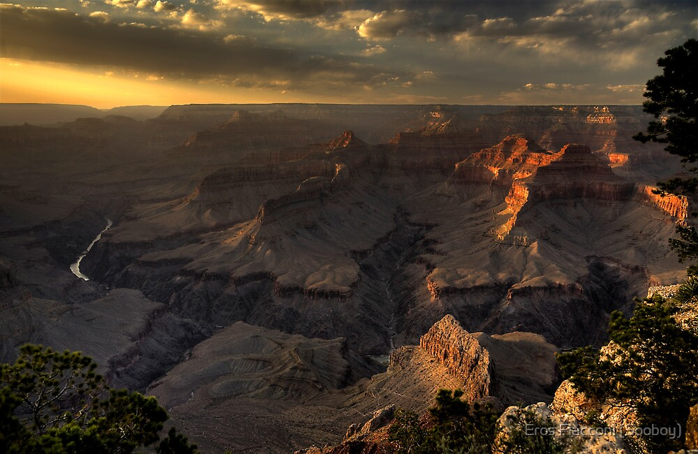 Grand Canyon sunset by Eros Fiacconi (Sooboy)