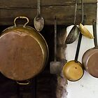 Brass Pans and Spoons, Locust Grove by Syd Weedon