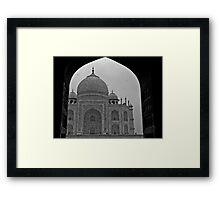 Archway to the Taj Mahal Framed Print