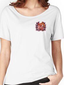 Goat Crest Logo Women's Relaxed Fit T-Shirt