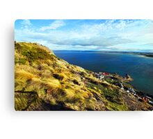 Beautiful Tasmania - view from a chairlift Canvas Print