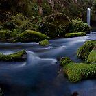 Omanawa River Run Rocks by Ken Wright