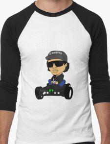 Hip Hop Funny Compton Rap Nintendo 64 Men's Baseball ¾ T-Shirt