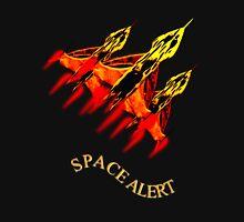 Space Alert a trio of Space Interceptors T-shirt design Unisex T-Shirt