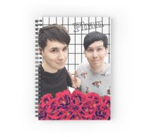 Phan and flowers Spiral Notebook
