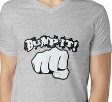 Bump it! Mens V-Neck T-Shirt