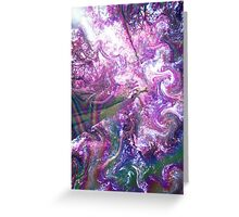 Abstract rainbow Greeting Card