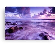 Rushing In Canvas Print