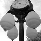 Main Street Unionville clock by Mike Leinwand