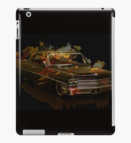 Black Cadillac iPad Case/Skin