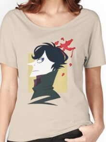 Sherlock Paper Tee Women's Relaxed Fit T-Shirt