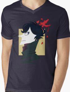 Sherlock Paper Tee Mens V-Neck T-Shirt