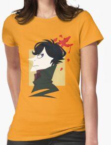Sherlock Paper Tee Womens Fitted T-Shirt