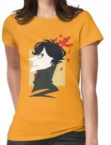 Sherlock Paper Tee Womens Fitted T-Shirt