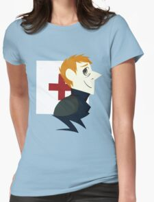 Watson Paper Tee Womens Fitted T-Shirt