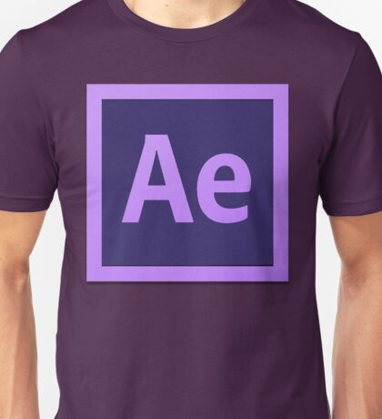 After Effect  CS6 Logo Unisex T-Shirt