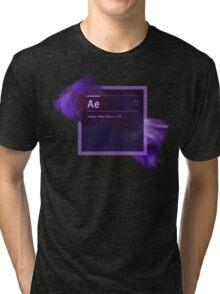 After Effects CS6 Splash Screen Tri-blend T-Shirt