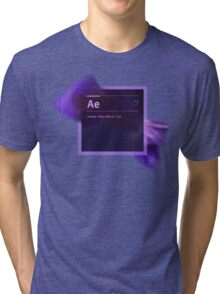 After Effects CS6 Splash Screen Tri-blend T-Shirt