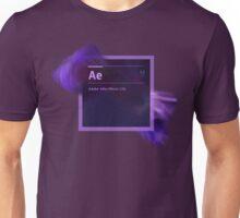 After Effects CS6 Splash Screen Unisex T-Shirt