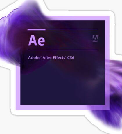After Effects CS6 Splash Screen Sticker
